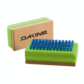 Dakine Nylon Brush Cork Snowboard Tool - Green