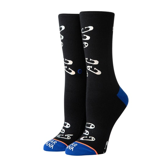 Stance Safety Pinned Womens Socks