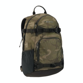 Burton Riders Pack 25l Backpack - Worn Camo Print