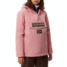 Napapijri Rainforest Winter 3 Womens Bunda - Pink Blush