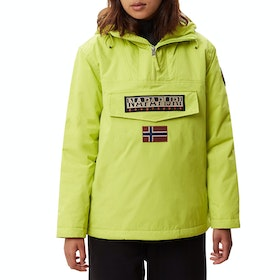 Napapijri Rainforest Winter 3 Womens Bunda - Yellow Lime