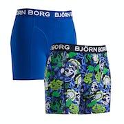 Bjorn Borg Strong Flower 2 Pack Boxer Shorts