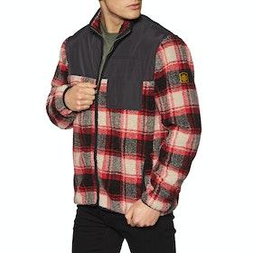 Element Abenaki Warm Zip Fleece - Black Red