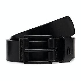 Cinturón de cuero Nixon Americana - Black