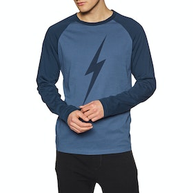 Lightning Bolt Forever Long Sleeve T-Shirt - Hawaiian Ocean