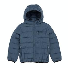 Rip Curl Puffer Wave Boys Jacket - Deep Blue