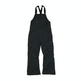 Volcom Barkley Bib Overall , Snowboardbyxa Barns - Black