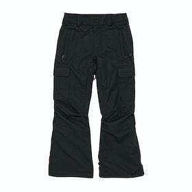Volcom Cargo Insulated , Snowboardbyxa Boys - Black