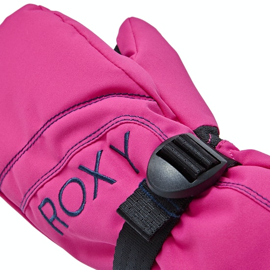 Roxy Jett Solid Girls Snow Gloves
