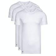 Lacoste 3 Pack Supima Cotton Neck , Kortärmad T-shirt