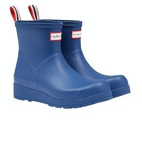 Stivali di Gomma Donna Hunter Original Play Boot Short - Peak Blue
