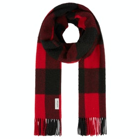 Woolrich Wool Scarf - Red Buffalo