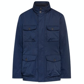 Hackett Padded Field Jacket - Navy
