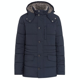 Hackett Polar Fleece Anorak Jacket - Navy