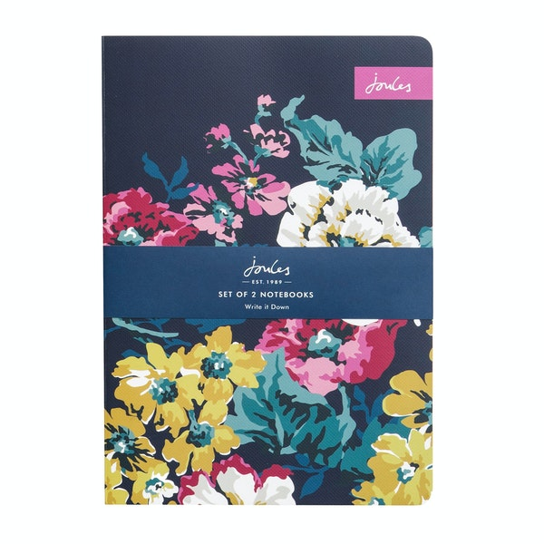 Notebook Joules Cambridge Floral Set Of 2 A5