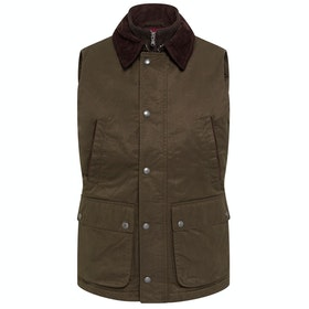 Hackett Wax Cotton Jacket - Olive