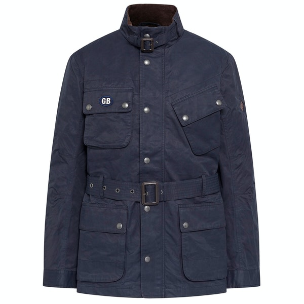 Hackett Wax Cotton Velo Modejakke