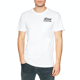 Deus Ex Machina Camperdown Address T Shirt - White