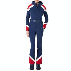 Perfect Moment Allos One Piece Womens スノースーツ - Navy Snow White Red