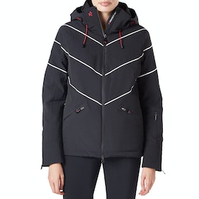 Perfect Moment Chamonix Damen Snowboard-Jacke - Black