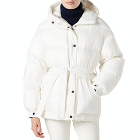 Perfect Moment Over Size Parka Damen Jacke - Snow White