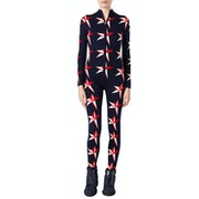 Perfect Moment Star II Jump Suit Womens ベースレイヤーレギンス