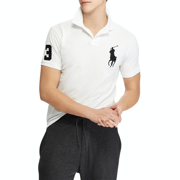 Polo Ralph Lauren Slim Fit Large Logo Poloskjorte