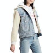 Levi's Ex-bf Sherpa Slv Trucker Women's Jacket