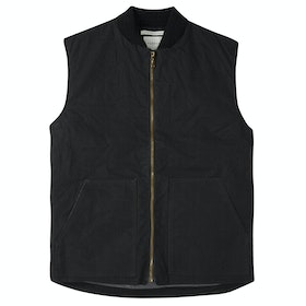 Peregrine Made In England Hybrid Gilet Gilet - Black