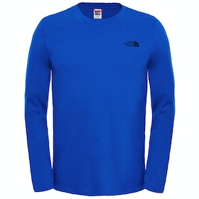 North Face Easy LS-T-Shirt - TNF Blue