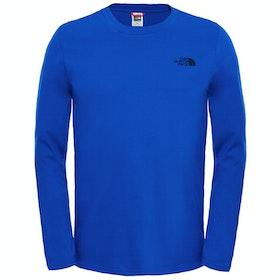 North Face Easy Long Sleeve T-Shirt - TNF Blue