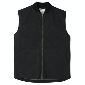 Peregrine Made In England Hybrid Gilet Vest - Black