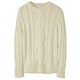 Peregrine Made In England Large Cable Crew Knits