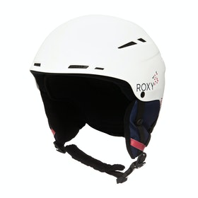 Roxy Alley Oop Womens Ski Helmet - Bright White