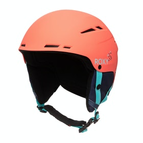 Roxy Alley Oop Womens Ski Helmet - Living Coral