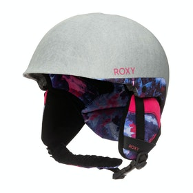 Roxy Happyland Girls Ski Helmet - Medieval Blue Cloudy Day