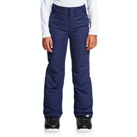 Roxy Backyard Girls Snow Pant - Medieval Blue