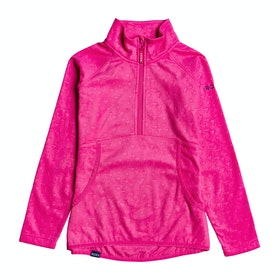 Roxy Cascade Girls Fleece - Beetroot Pink