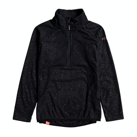 Roxy Cascade Girls Fleece - True Black
