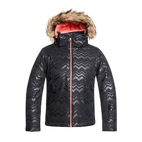 Roxy Jet Ski Girls Snow Jacket - True Black