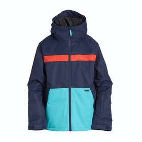 Billabong All Day Boys Snow Jacket - Navy