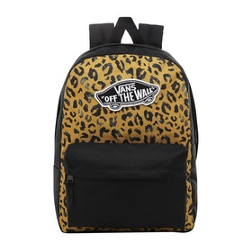Vans Realm Womens Backpack - Arrowwood Leopard