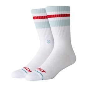 Stance Miles Silvas Fam First Socks - White