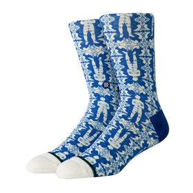 Calcetines Stance Shakra Crew - Blue