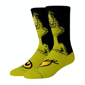 Stance The Grinch Socks - Green