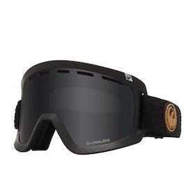 Dragon D1 OTG Snow Goggles - Pk Gumsole ~ Lumalens Dark Smoke