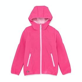 Jack Wolfskin Fourwinds Kids Jacket - Pink Fuchsia