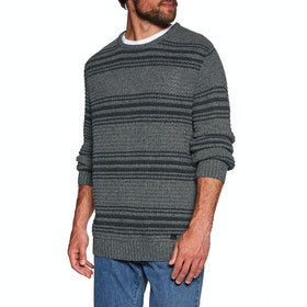 Knits Billabong Kodari Sweater - Dark Grey Heath