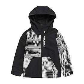 Blouson pour Snowboard Volcom Vernon Insulated - Black Stripe