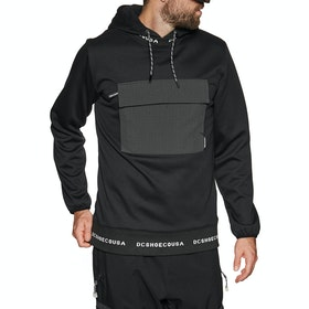 DC Commuter Pullover Hoody - Black